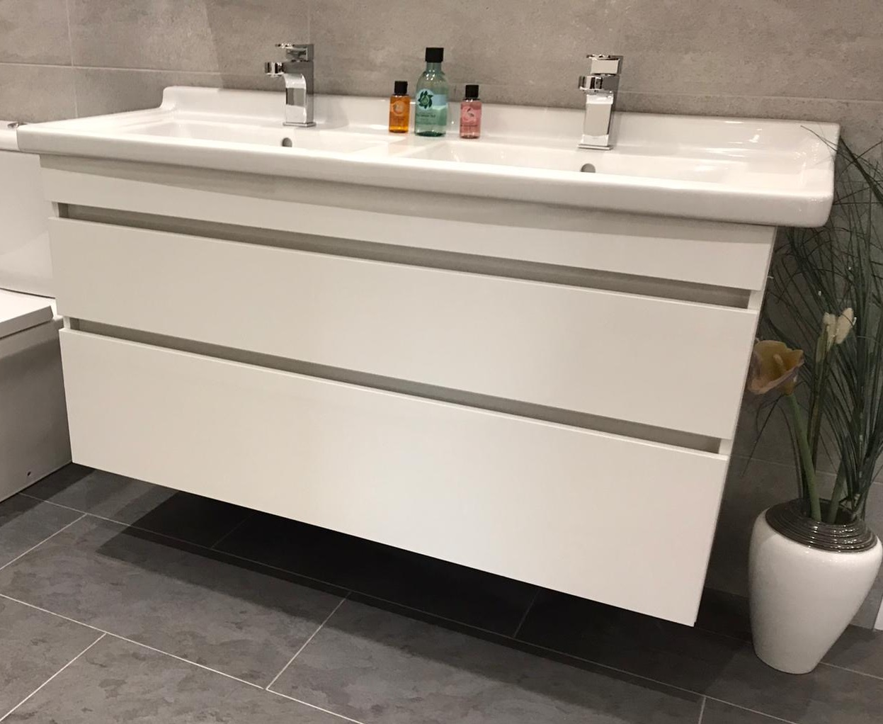 Durastyle double sink unit | Wakefield Bathrooms
